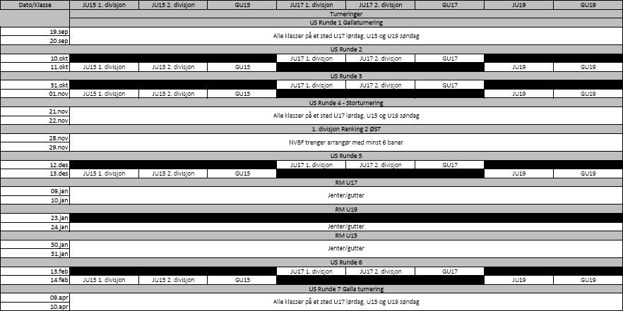 Terminplan 2015/16