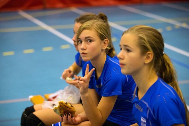 25-0 mot Årvoll er uslåelig bestenotering på serve for Gro.