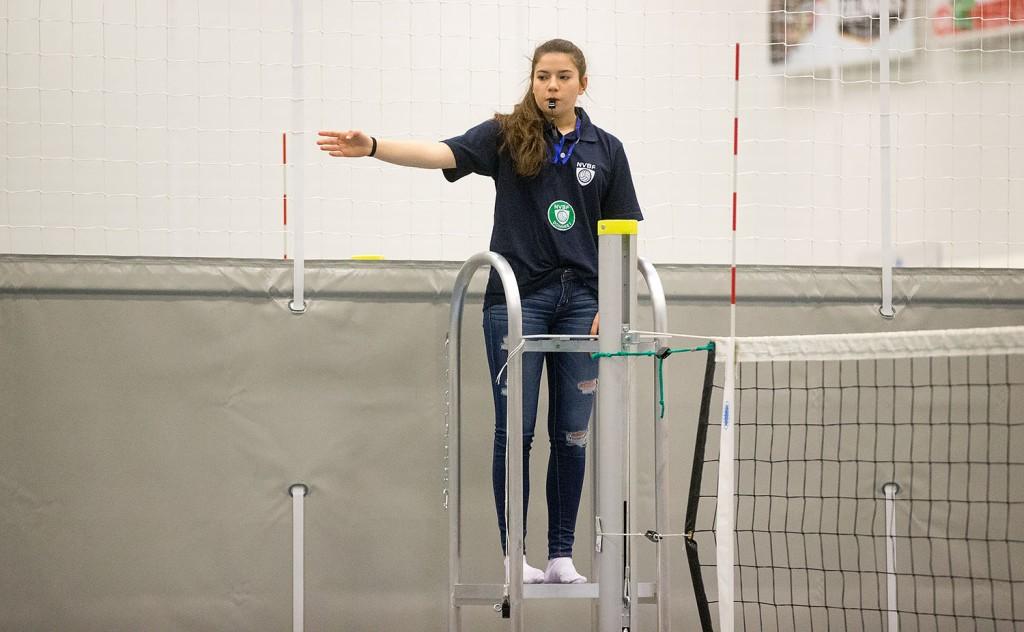 Kathlin Vangen fra Kolbotn representerer Asker i NM U15 i mars.