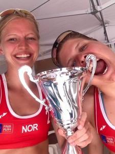 Ingrid Lunde og Vilde Solvoll bidro til 2.plass i Continental cup Lorca 10. mai. OL-håpet lever videre for Norge.