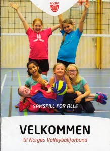 Den nye velkomst-heftet fra volleyballforbundet