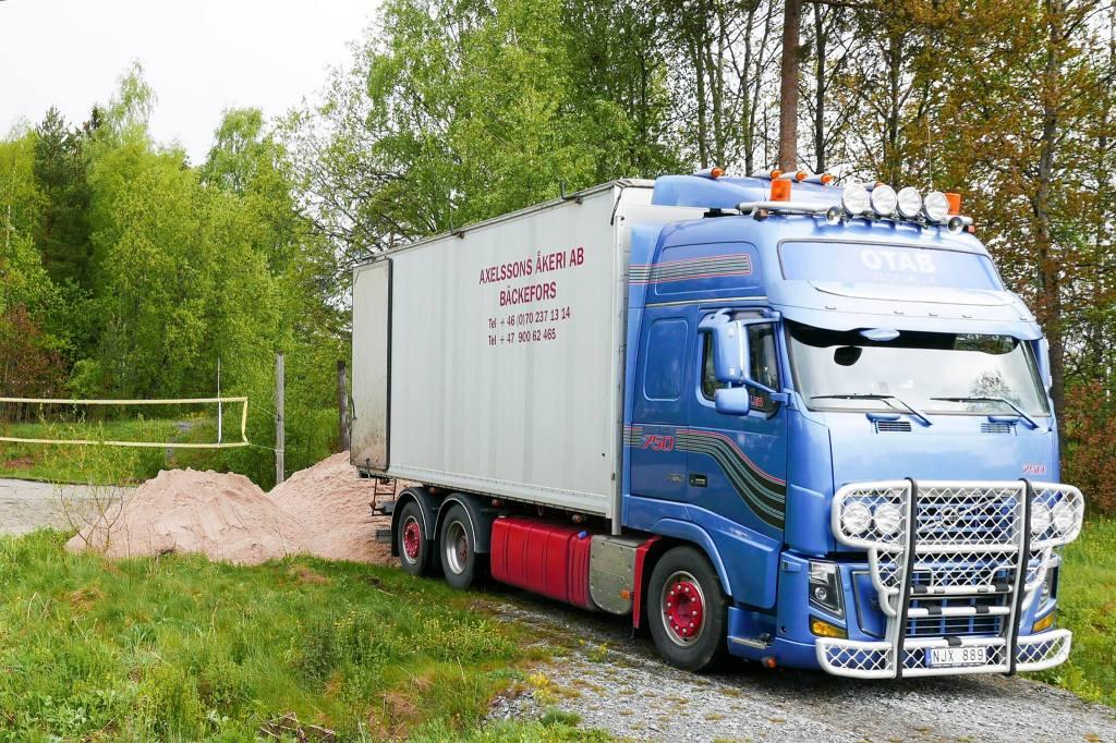 26. mai 2015 kom 30 tonn Brogårdssand fra Sverige