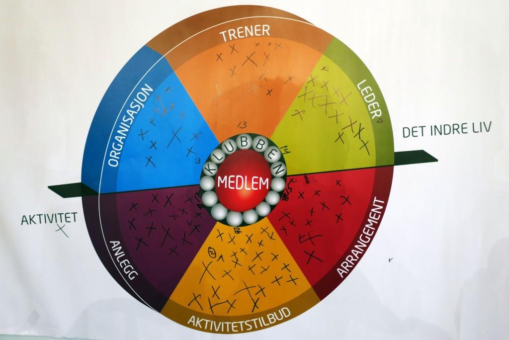 Organisasjonshjulet som utgangspunkt